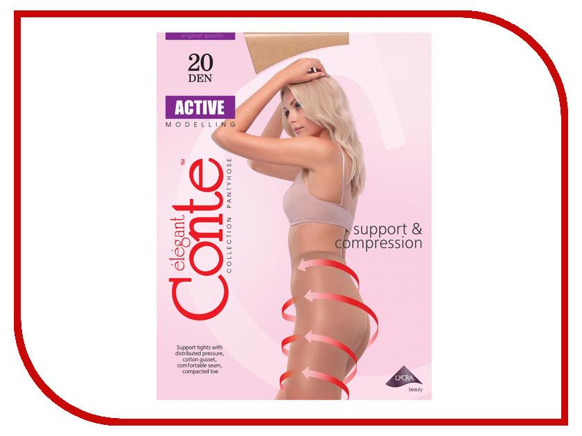 Колготки Conte Active размер 2 плотность 20 Den Bronzo