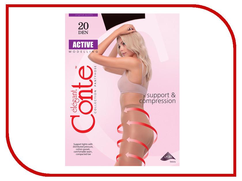 Колготки Conte Active размер 4 плотность 20 Den Nero