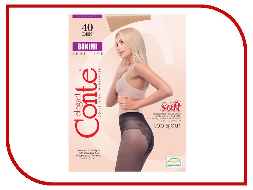 Колготки Conte Bikini размер 3 плотность 40 Den Naturel