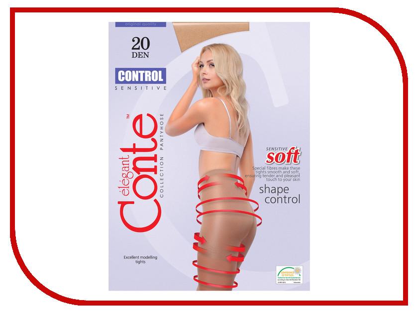 Колготки Conte Control размер 4 плотность 20 Den Bronzo<br>