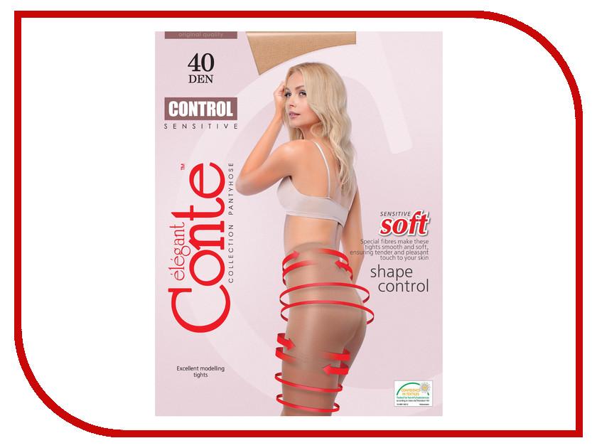 Колготки Conte Control размер 2 плотность 40 Den Bronzo<br>
