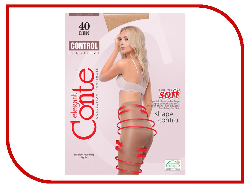 Колготки Conte Control размер 3 плотность 40 Den Naturel