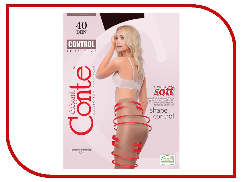 Колготки Conte Control размер 4 плотность 40 Den Nero