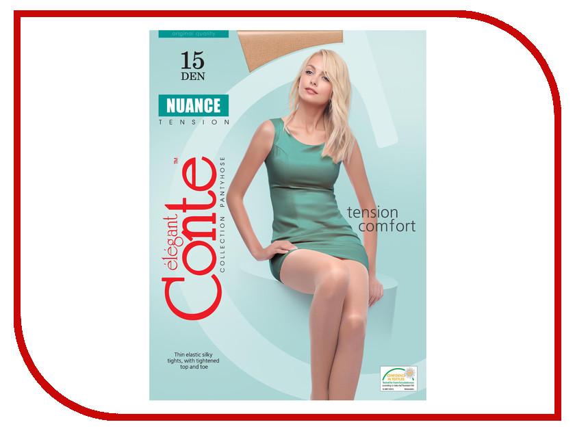 Колготки Conte Nuance размер 2 плотность 15 Den Bronzo трусики quelle nuance 753016