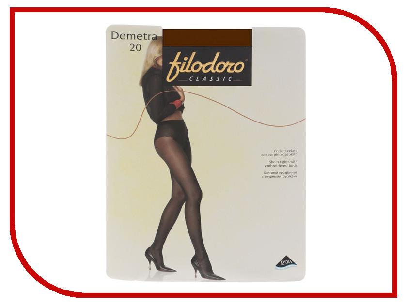 Колготки Filodoro Demetra размер 2 плотность 20 Den Cognac