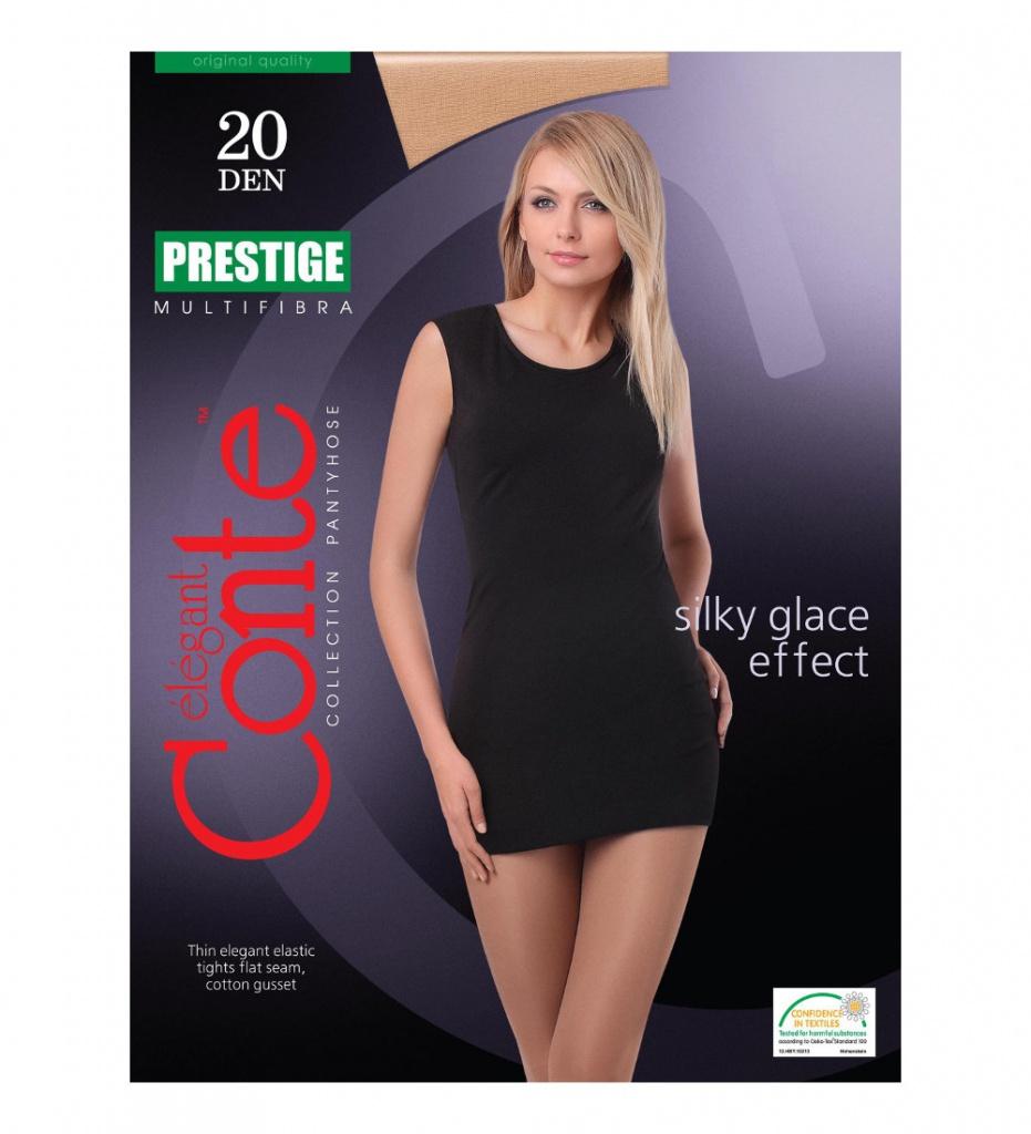 купить Колготки Conte Prestige размер 4 плотность 20 Den Bronzo по цене 138 рублей