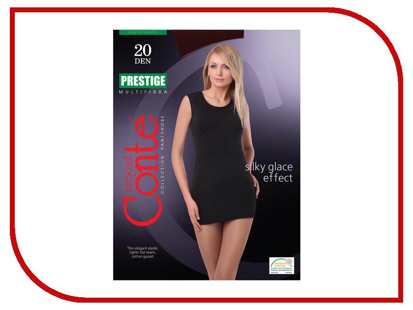 Колготки Conte Prestige размер 2 плотность 20 Den Nero колготки conte elegant колготки prestige 20