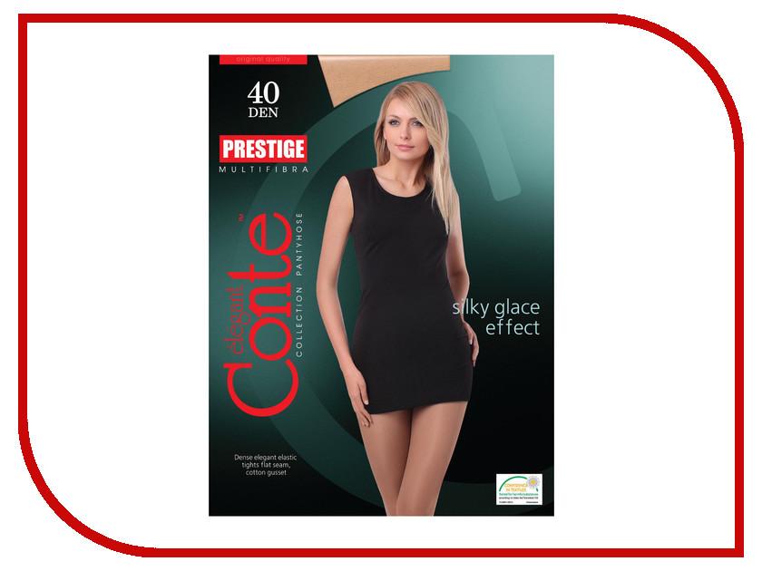 где купить Колготки Conte Prestige размер 4 плотность 40 Den Naturel по лучшей цене