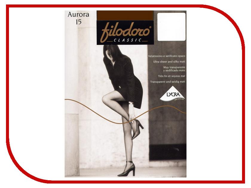 Колготки Filodoro Aurora размер 4 плотность 15 Den Cognac