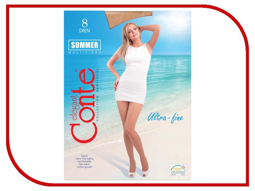 Колготки Conte Summer размер 4 плотность 8 Den Naturel