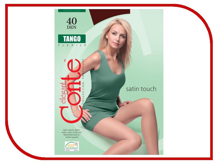 Фото Колготки Conte Tango размер 4 плотность 40 Den Bronzo