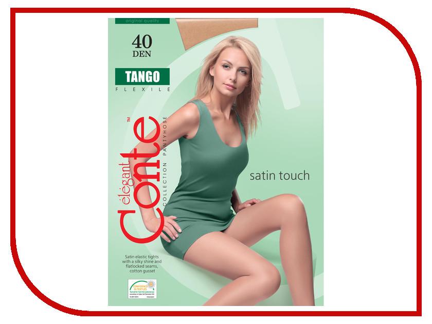 Колготки Conte Tango размер 4 плотность 40 Den Naturel tango