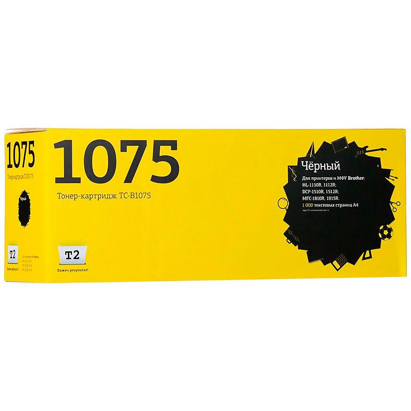Картридж T2 TC-B1075 (схожий с Brother TN-1075) для HL-1110R/1112R/DCP-1510R/1512R/MFC-1810R/1815R