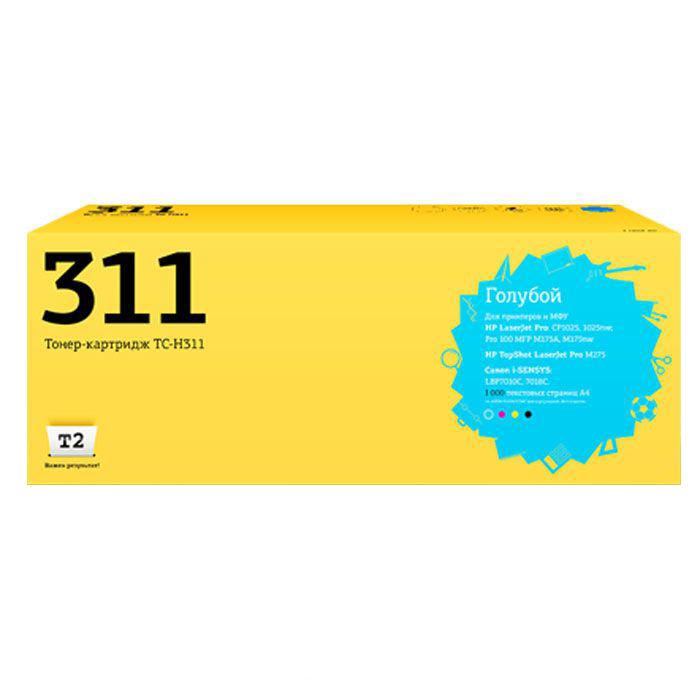 Картридж T2 TC-H311 Cyan