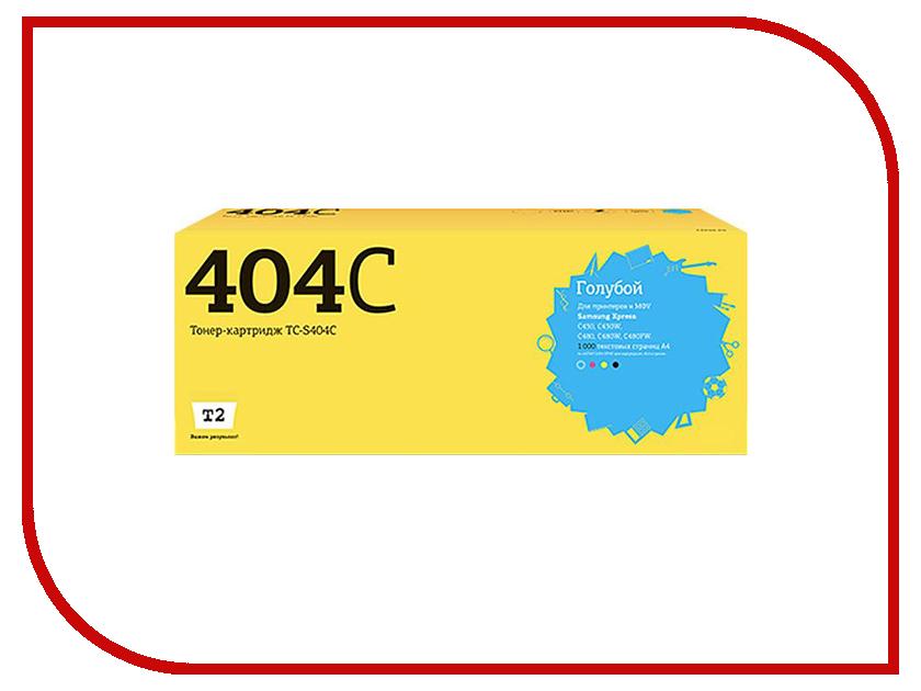 Картридж T2 TC-S404C Cyan для Samsung Xpress SL-C430/C430W/C480/C480W/C480FW с чипом samsung xpress c480fw картридж