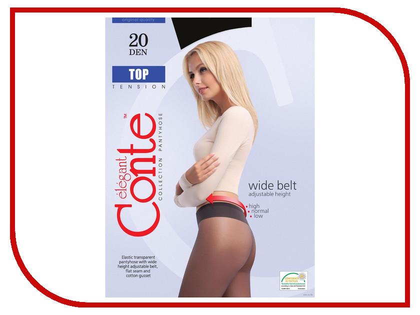 Колготки Conte Top размер 4 плотность 20 Den Nero колготки conte elegant колготки prestige 20