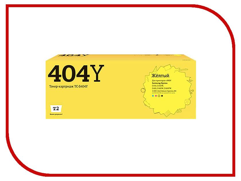 Картридж T2 TC-S404Y Yellow для Samsung Xpress SL-C430/C430W/C480/C480W/C480FW с чипом samsung xpress c480fw картридж