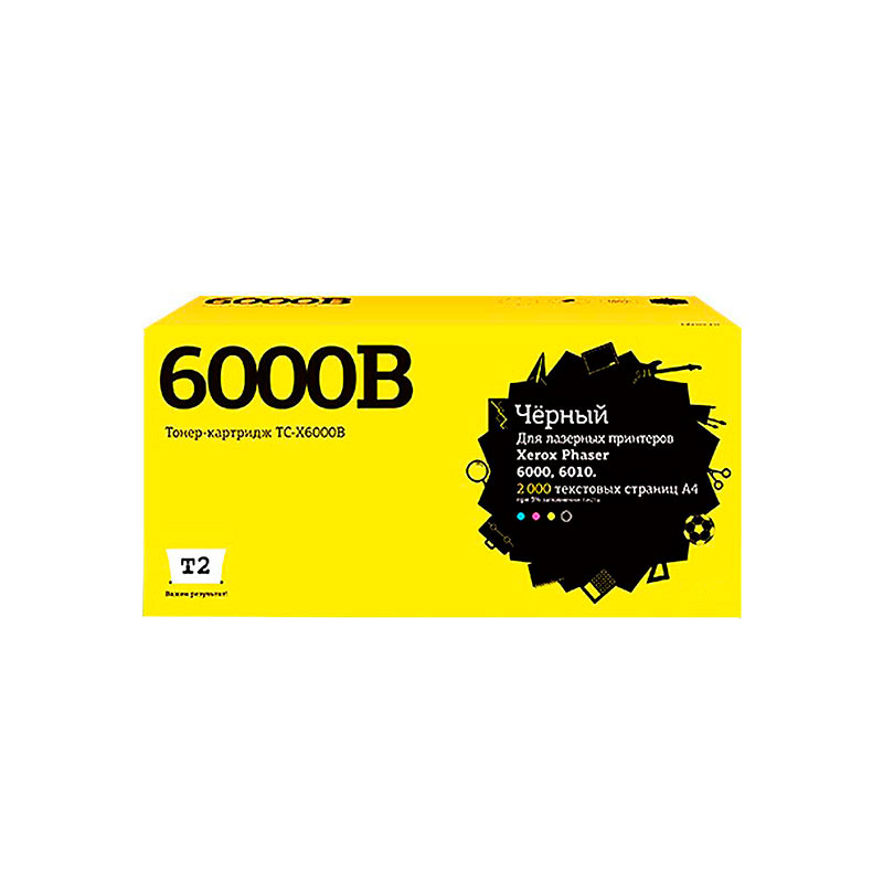 Картридж T2 TC-X6000B Black