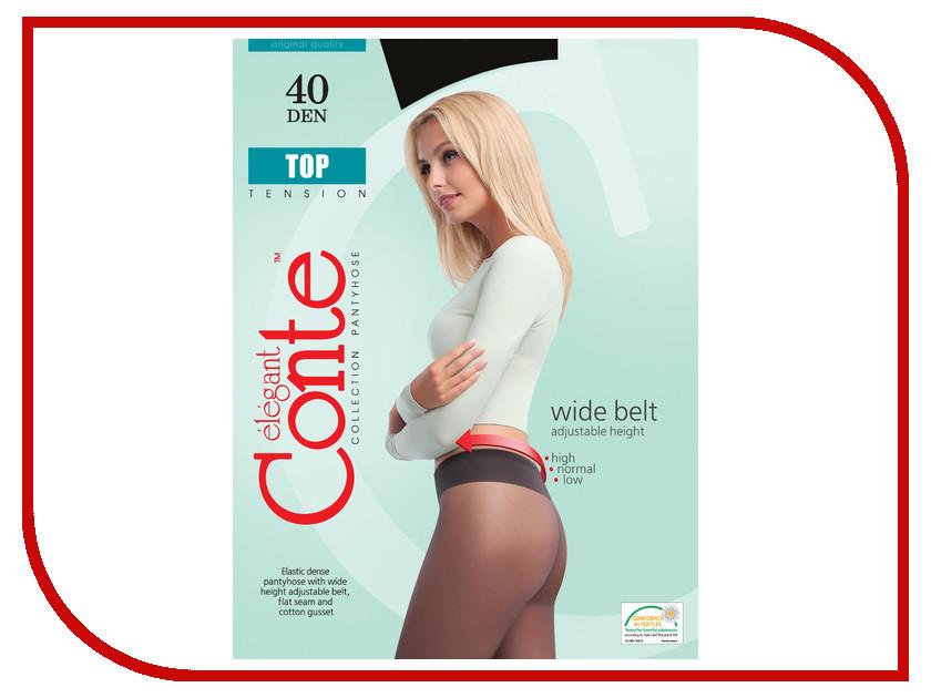цена Колготки Conte Top размер 2 плотность 40 Den Nero