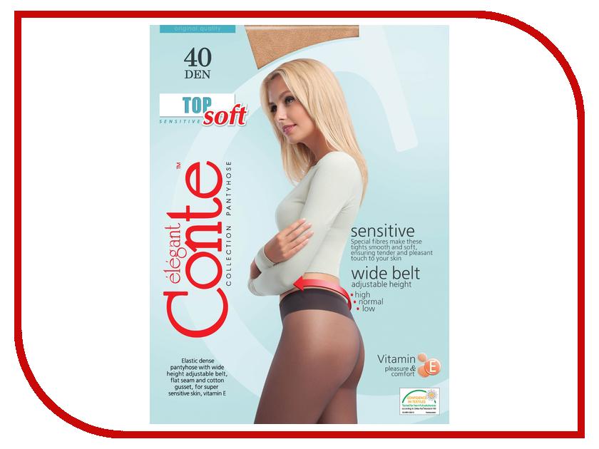 цены  Колготки Conte Top Soft размер 4 плотность 40 Den Naturel