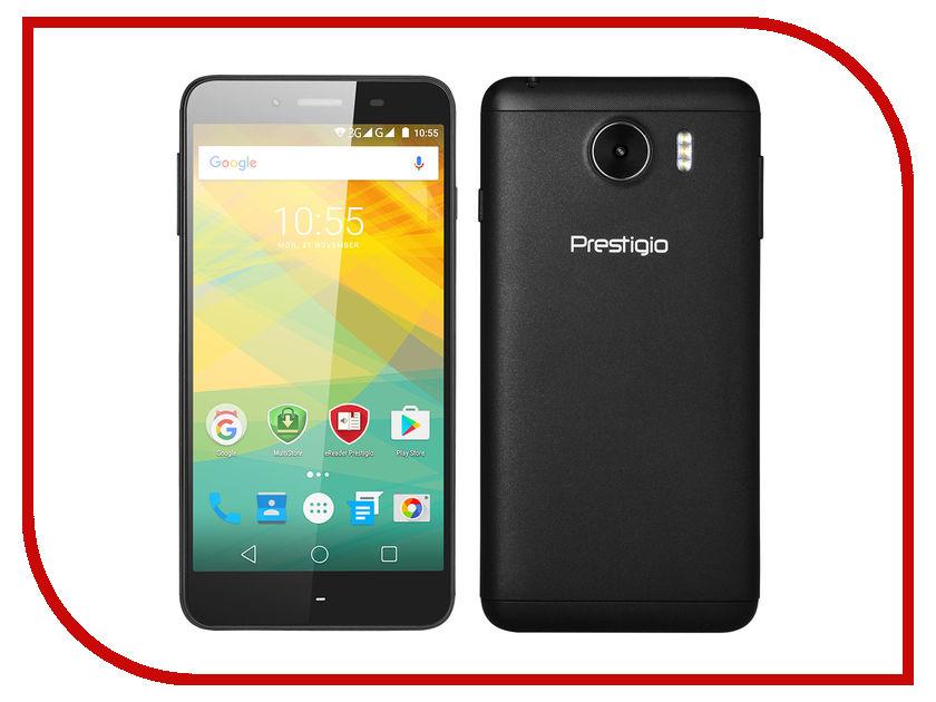 Сотовый телефон Prestigio Grace Z3 Black PSP3533DUOBLACK телефон беспроводной dect panasonic kx tgb210rur red