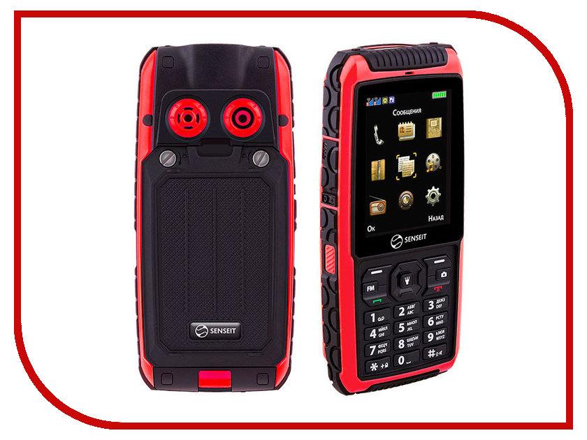 Сотовый телефон SENSEIT P101 Red senseit p101 купить в москве