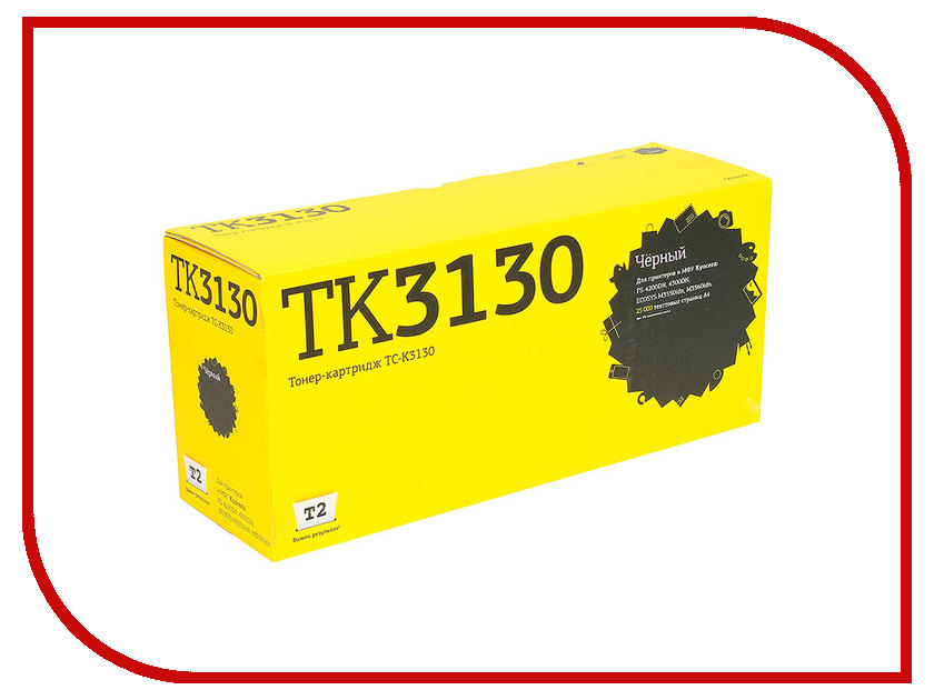 Картридж T2 TC-K3130 для Kyocera FS-4200DN/4300DN/ECOSYS M3550idn/M3560idn с чипом картридж t2 tc s203e для samsung proxpress m3820d m3820nd m4020nd m3870fd m3870fw m4070fr с чипом