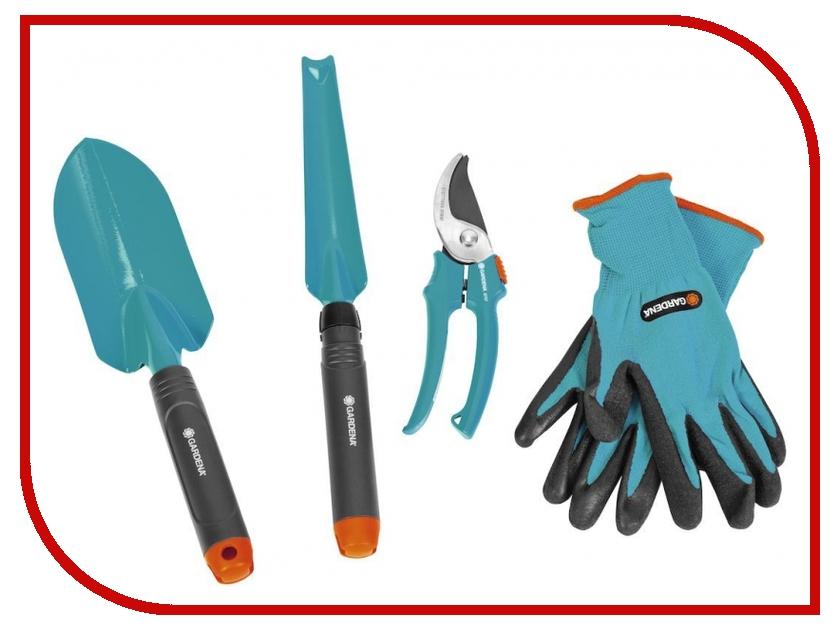 Садовый инструмент Комлект садовых инструментов GARDENA 08965-30.000.00 наборы садовых инструментов esschert design набор садовых инструментов kg106