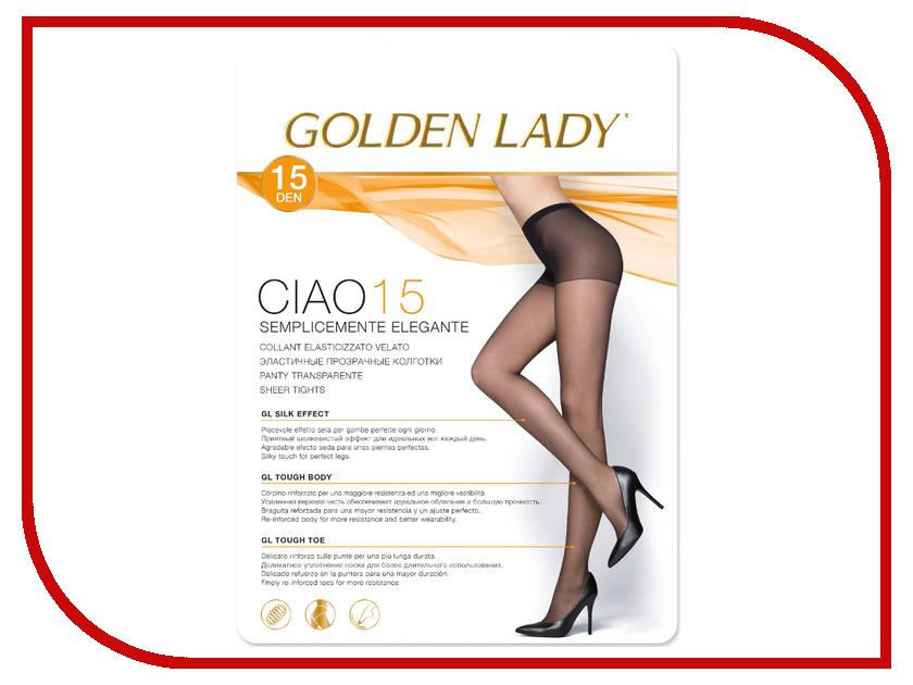 Колготки Golden Lady Ciao размер 3 плотность 15 Den Daino