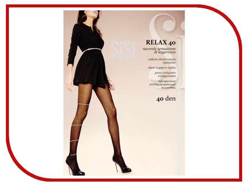 Колготки SiSi Relax размер 5 плотность 40 Den Nero колготки giulia колготки классика модель relax 50