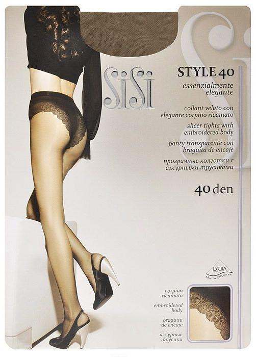 Колготки SiSi Style размер 3 плотность 40 Den Miele