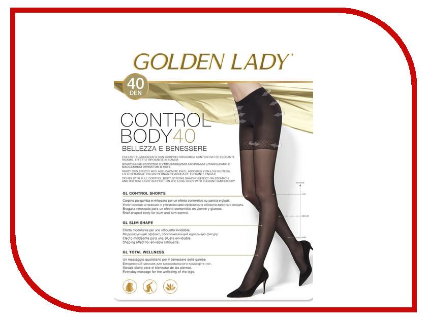 Колготки Golden Lady Control Body размер 3 плотность 40 Den Nero колготки golden lady vivace размер 3 плотность 40 den nero