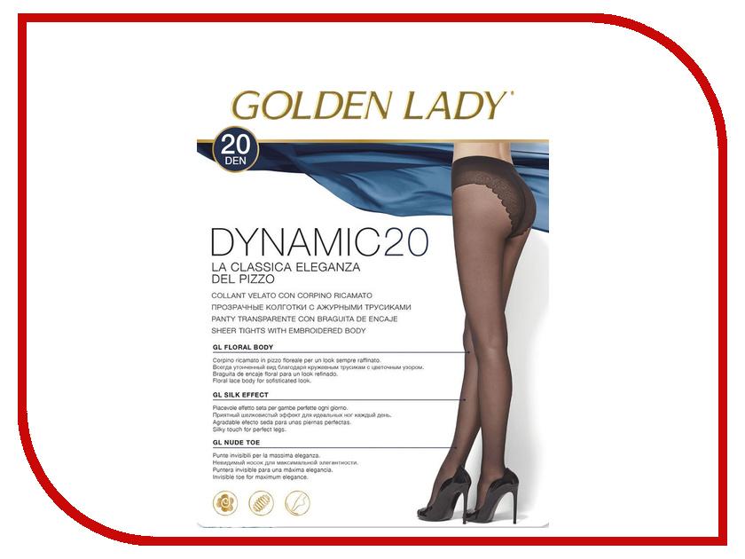 Колготки Golden Lady Dinamic размер 4 плотность 20 Den Nero
