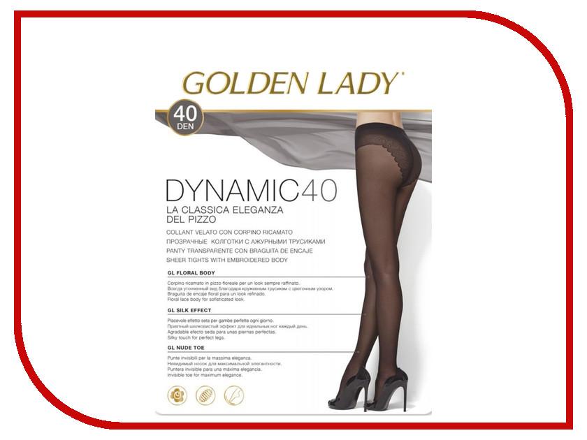 Колготки Golden Lady Dinamic размер 3 плотность 40 Den Nero колготки golden lady vivace размер 3 плотность 40 den nero