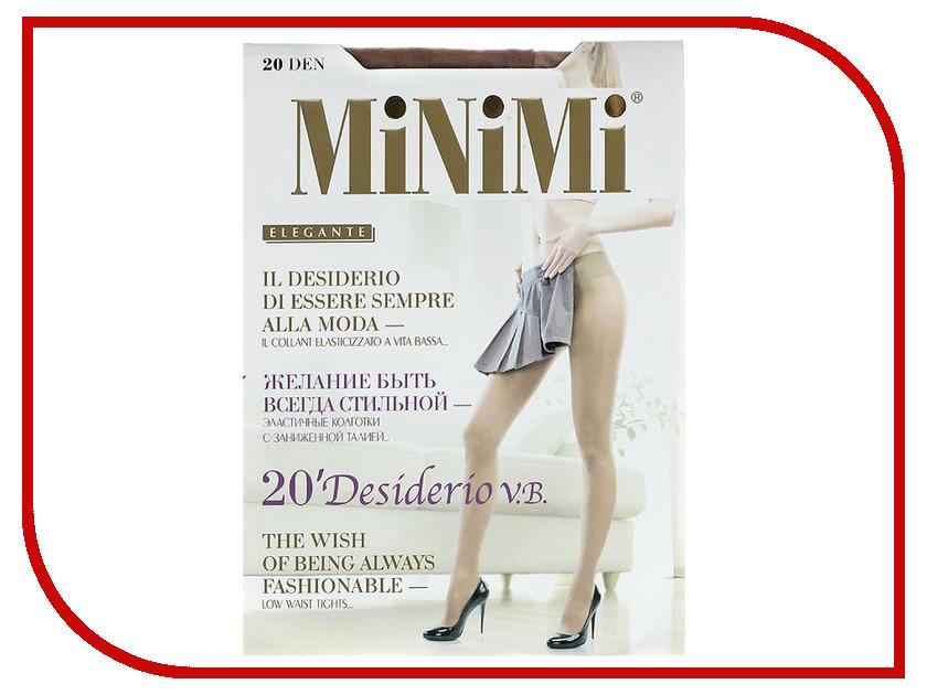 Колготки MiNiMi Desiderio размер 4 плотность 20 Den V.B. Daino колготки minimi elegante размер 4 плотность 20 den daino