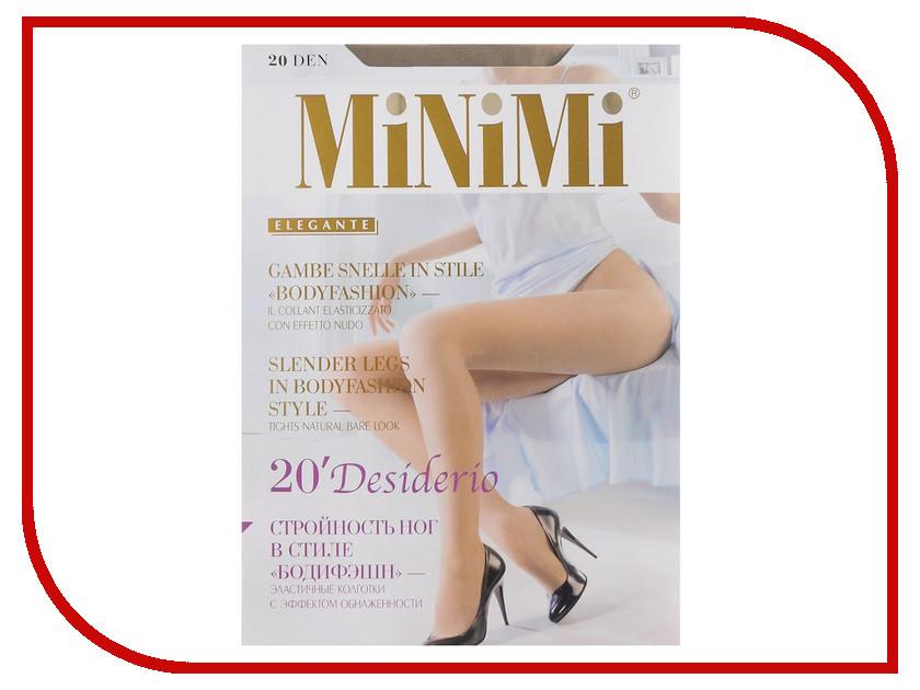 Колготки MiNiMi Desiderio размер 2 плотность 20 Den Caramello колготки minimi desiderio размер 4 плотность 40 den v b caramello