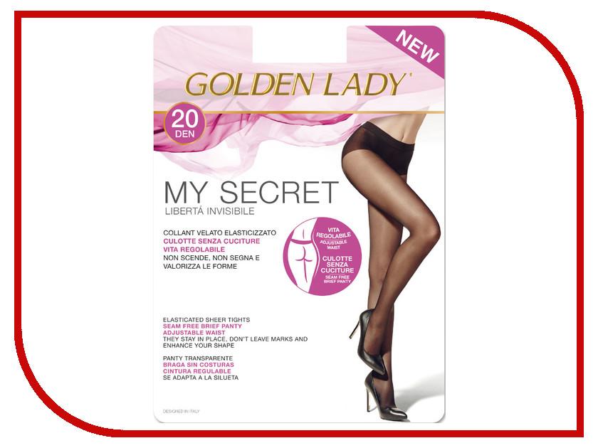 Колготки Golden Lady My Secret размер 4 плотность 20 Den Nero my favor my lady 15