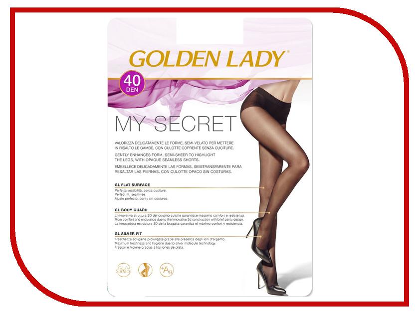 Колготки Golden Lady My Secret размер 3 плотность 40 Den Nero колготки golden lady vivace размер 3 плотность 40 den nero