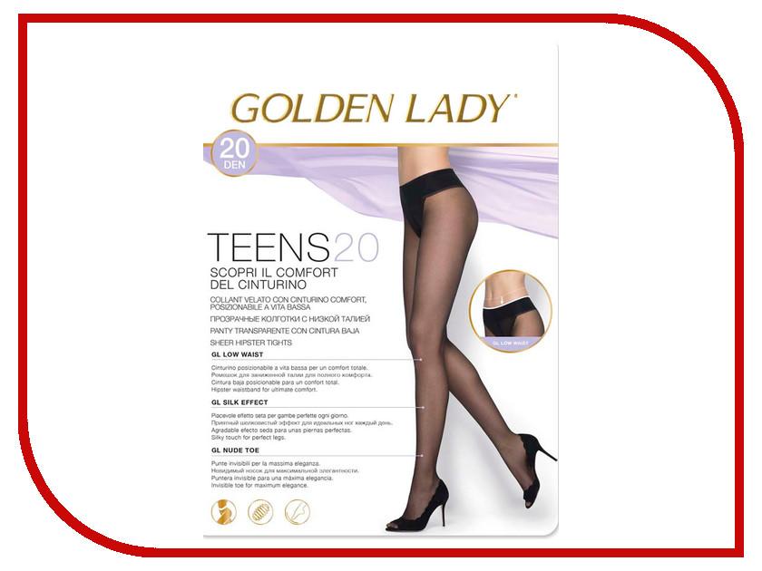 Колготки Golden Lady Teens Vita размер 2 плотность 20 Den Bassa Nero колготки filodoro ninfa размер 2 плотность 40 den vita bassa playa