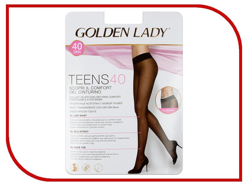 Колготки Golden Lady Teens Vita размер 3 плотность 40 Den Bassa Nero  blazing teens 3