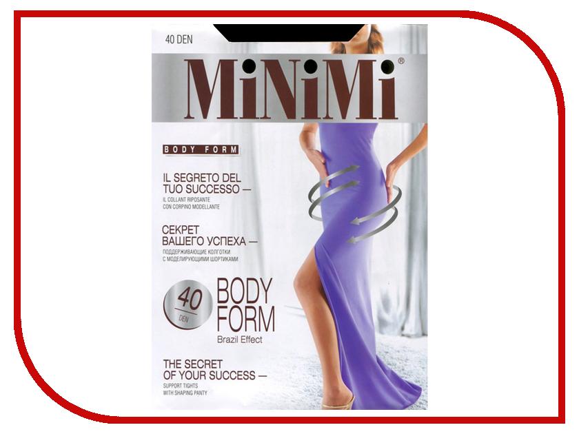 Колготки MiNiMi Body Form размер 4 плотность 40 Den Nero<br>