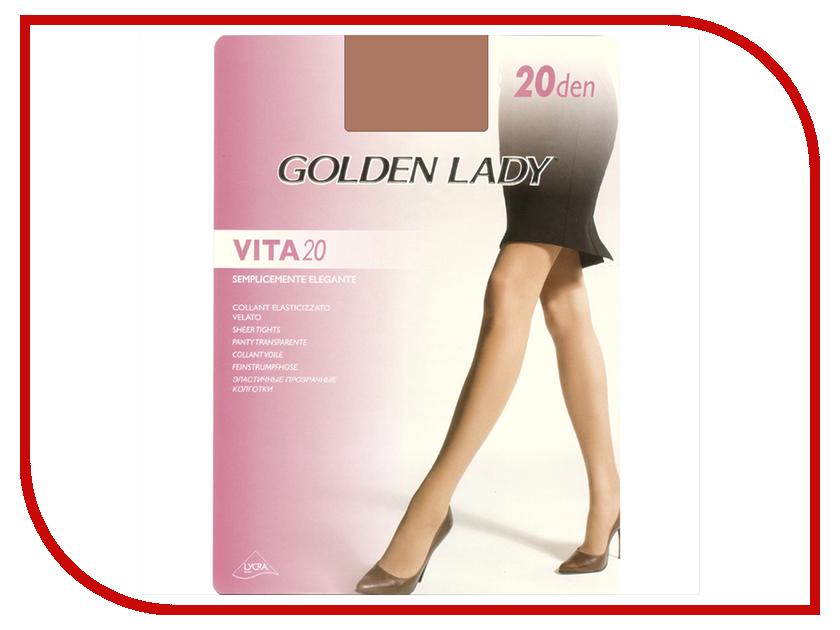 Колготки Golden Lady Vita размер 4 плотность 20 Den Melon