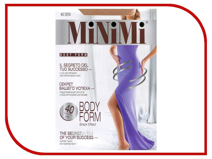 Колготки MiNiMi Body Form размер 2 плотность 40 Den Caramello