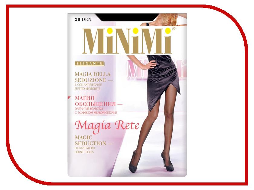 Колготки MiNiMi Magia Rete размер 3 плотность 20 Den Nero колготки minimi avanti размер 3 плотность 20 den nero