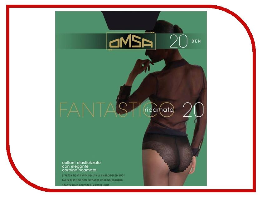 Колготки OMSA Fantastico размер 4 плотность 20 Den Nero omsa green 20 nero 4