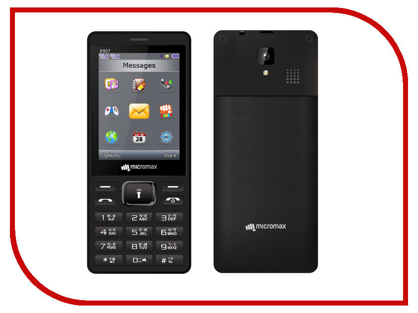 Сотовый телефон Micromax X907 сотовый телефон micromax q383 blue