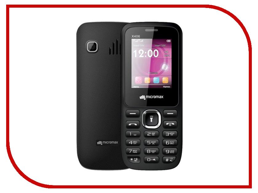 Сотовый телефон Micromax X406 Black