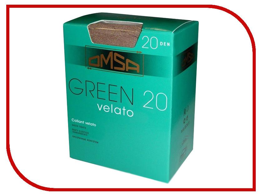 Колготки OMSA Green размер 4 Caramello