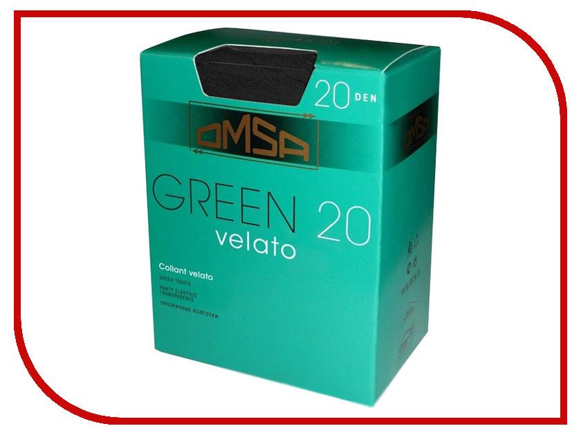 Колготки OMSA Green размер 2 Nero omsa green 20 nero 4