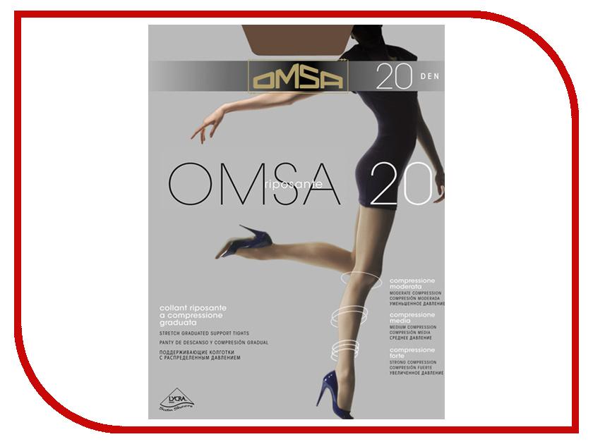 Колготки OMSA размер 5XL плотность 20 Den Daino